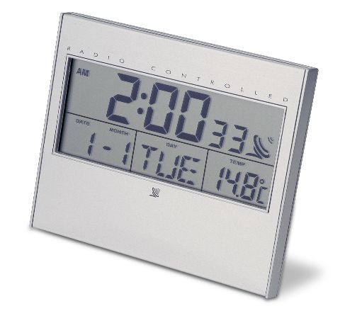 MULT. RADIOCONTROLLED CLOCK
