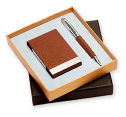 Σετ στυλό-καρτελοθήκη